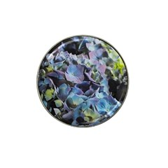 Blue and Purple Hydrangea Group Golf Ball Marker 10 Pack (for Hat Clip) by bloomingvinedesign