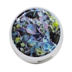 Blue And Purple Hydrangea Group 4 Port Usb Hub (one Side) by bloomingvinedesign