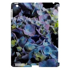 Blue And Purple Hydrangea Group Apple Ipad 3/4 Hardshell Case (compatible With Smart Cover) by bloomingvinedesign
