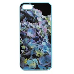 Blue And Purple Hydrangea Group Apple Seamless Iphone 5 Case (color) by bloomingvinedesign