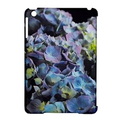 Blue And Purple Hydrangea Group Apple Ipad Mini Hardshell Case (compatible With Smart Cover) by bloomingvinedesign