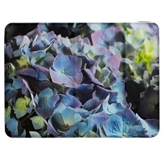 Blue And Purple Hydrangea Group Samsung Galaxy Tab 7  P1000 Flip Case by bloomingvinedesign