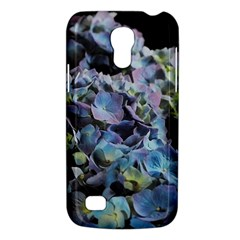 Blue And Purple Hydrangea Group Samsung Galaxy S4 Mini (gt I9190) Hardshell Case  by bloomingvinedesign
