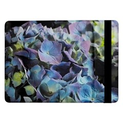 Blue And Purple Hydrangea Group Samsung Galaxy Tab Pro 12 2  Flip Case by bloomingvinedesign