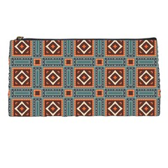 Squares Rectangles And Other Shapes Pattern Pencil Case