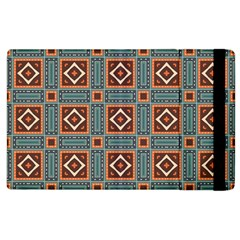 Squares Rectangles And Other Shapes Pattern Apple Ipad 2 Flip Case by LalyLauraFLM