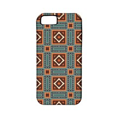Squares Rectangles And Other Shapes Pattern Apple Iphone 5 Classic Hardshell Case (pc+silicone) by LalyLauraFLM