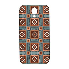 Squares Rectangles And Other Shapes Pattern Samsung Galaxy S4 I9500/i9505  Hardshell Back Case by LalyLauraFLM