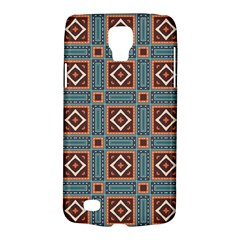 Squares Rectangles And Other Shapes Pattern Samsung Galaxy S4 Active (i9295) Hardshell Case by LalyLauraFLM