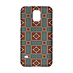Squares Rectangles And Other Shapes Pattern Samsung Galaxy S5 Hardshell Case  by LalyLauraFLM
