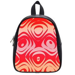 Gradient Shapes School Bag (small) by LalyLauraFLM