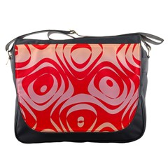 Gradient Shapes Messenger Bag by LalyLauraFLM