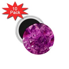Amethyst Stone Of Healing 1 75  Button Magnet (10 Pack) by FunWithFibro