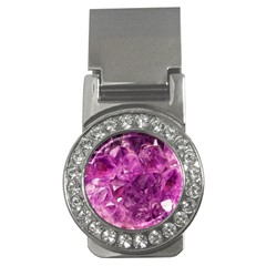 Amethyst Stone Of Healing Money Clip (cz) by FunWithFibro