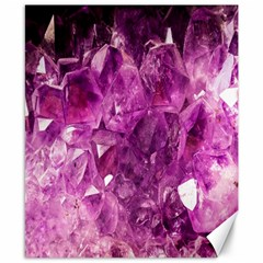 Amethyst Stone Of Healing Canvas 8  X 10  (unframed) by FunWithFibro