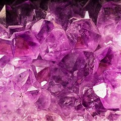 Amethyst Stone Of Healing Canvas 12  X 12  (unframed) by FunWithFibro