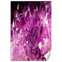 Amethyst Stone Of Healing Canvas 12  X 18  (unframed) by FunWithFibro