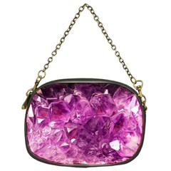 Amethyst Stone Of Healing Chain Purse (one Side) by FunWithFibro