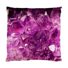Amethyst Stone Of Healing Cushion Case (two Sided)  by FunWithFibro