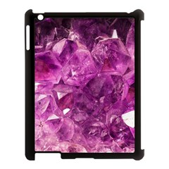 Amethyst Stone Of Healing Apple Ipad 3/4 Case (black) by FunWithFibro