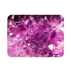 Amethyst Stone Of Healing Double Sided Flano Blanket (mini) by FunWithFibro
