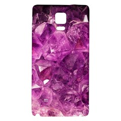 Amethyst Stone Of Healing Samsung Note 4 Hardshell Back Case by FunWithFibro