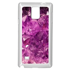 Amethyst Stone Of Healing Samsung Galaxy Note 4 Case (white) by FunWithFibro