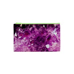 Amethyst Stone Of Healing Cosmetic Bag (xs) by FunWithFibro