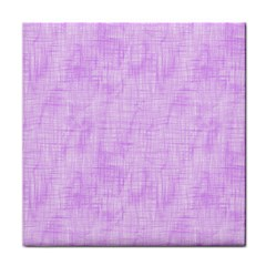 Hidden Pain In Purple Ceramic Tile by FunWithFibro