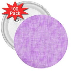 Hidden Pain In Purple 3  Button (100 Pack) by FunWithFibro