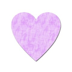 Hidden Pain In Purple Magnet (heart) by FunWithFibro
