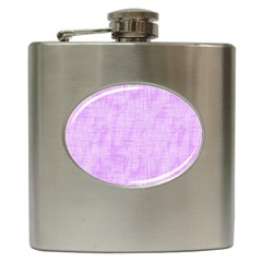 Hidden Pain In Purple Hip Flask by FunWithFibro