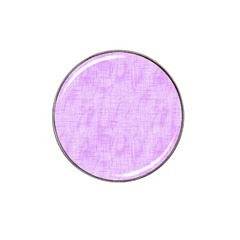 Hidden Pain In Purple Golf Ball Marker (for Hat Clip) by FunWithFibro