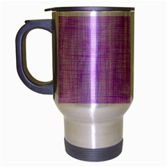 Hidden Pain In Purple Travel Mug (silver Gray) by FunWithFibro