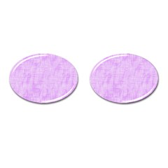 Hidden Pain In Purple Cufflinks (oval) by FunWithFibro
