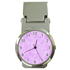 Hidden Pain In Purple Money Clip With Watch by FunWithFibro