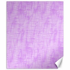 Hidden Pain In Purple Canvas 8  X 10  (unframed) by FunWithFibro