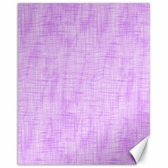 Hidden Pain In Purple Canvas 16  X 20  (unframed) by FunWithFibro