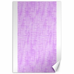 Hidden Pain In Purple Canvas 20  X 30  (unframed) by FunWithFibro