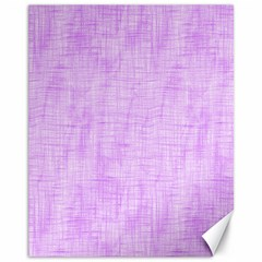 Hidden Pain In Purple Canvas 11  X 14  (unframed) by FunWithFibro
