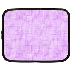 Hidden Pain In Purple Netbook Sleeve (large) by FunWithFibro