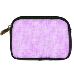 Hidden Pain In Purple Digital Camera Leather Case by FunWithFibro