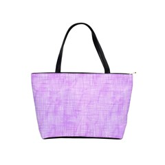 Hidden Pain In Purple Large Shoulder Bag by FunWithFibro