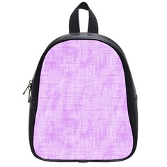 Hidden Pain In Purple School Bag (small) by FunWithFibro