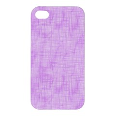 Hidden Pain In Purple Apple Iphone 4/4s Hardshell Case by FunWithFibro