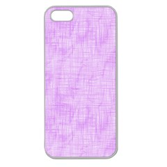 Hidden Pain In Purple Apple Seamless Iphone 5 Case (clear) by FunWithFibro
