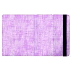 Hidden Pain In Purple Apple Ipad 3/4 Flip Case by FunWithFibro