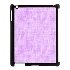 Hidden Pain In Purple Apple Ipad 3/4 Case (black) by FunWithFibro