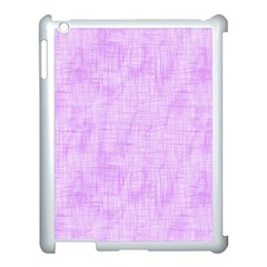 Hidden Pain In Purple Apple Ipad 3/4 Case (white) by FunWithFibro