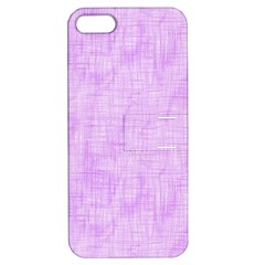 Hidden Pain In Purple Apple Iphone 5 Hardshell Case With Stand by FunWithFibro